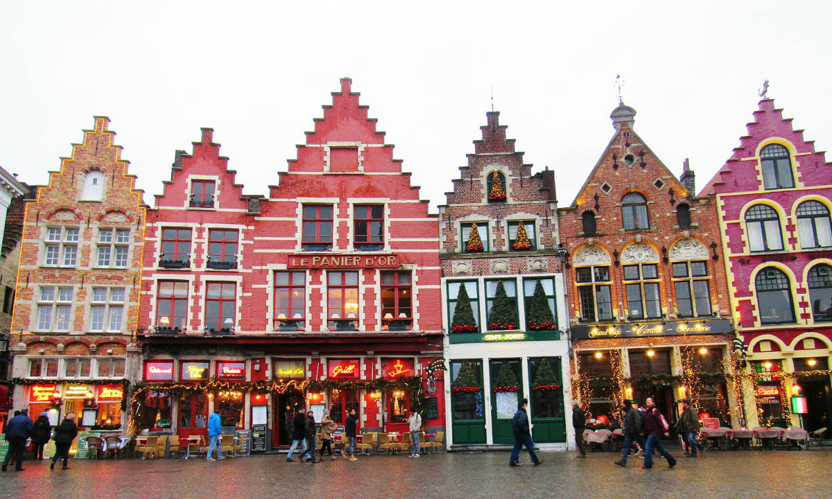 visit Bruges Belgium Markt Market Square